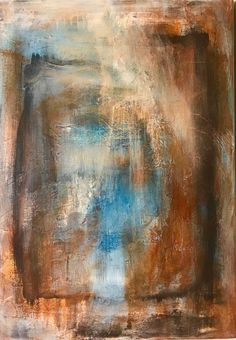 Buy Abstract in Natural colors, Blue, ecru, sienna, Acrylic painting by Tiny de Bruin on Artfinder. Discover thousands of other original paintings, prints, sculptures and photography from independent artists.