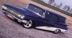 1960 CHEVY  Brookwood 2 Dr wagon