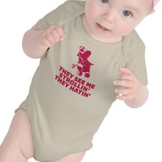They see me strollin' - they hatin' - Funny baby / Infant Creeper / one piece bodysuit