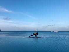 Ideal location for yoga 💙... #maldives #selfie  #instafashion #sheisnotlost #travelgirls #girlslovetravel #dametraveler #femmetravel #globelletravels #iamtraveler #girlaroundworld #travelstagram #travelstyle #travelstoke #wanderlust #passionpassport #beautifuldestinations #shetravels #travelandleisure #travelawesome #travelinspo #girlswhotravel #coupletravel #travelcouple #馬爾地夫 #马尔代夫 #蜜月 #蜜月旅行 Honeymoon Destinations All Inclusive, Couple Travel, Maldives, Wanderlust, Yoga, Selfie, The Maldives, Yoga Tips, Selfies