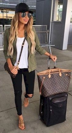 56 Comfy Airplane Outfits Ideas for Women