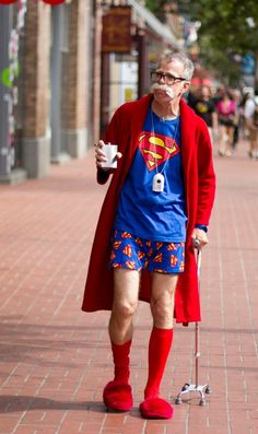 Retired Superman Costume - LOVE IT!
