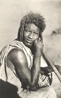 BEJA-HADENDOA man, Sudan.