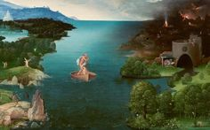Landscape with Charon Crossing the Styx by Joachim Patinir, c. 1515–1524
