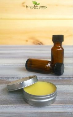 2 Tbsp Organic Sweet Almond Oil or other liquid carrier oil of choice (learn ALL about carrier oils in this detailed post) 1 Tbsp + 2 tsps Beeswax Pastilles (naturally processed, sustainably sourced beeswax) 2 oz tin or about 5 of these handy lip slide tins **PATCHOULI BLEND - 30 drops Patchouli Essential Oil and 20 drops Orange Essential Oil **LAVENDER BLEND- 40 drops Lavender Essential Oil and 10 drops Ylang Ylang Essential Oil