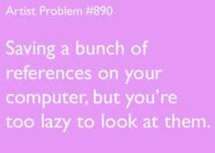 Omg yes because I still prefer to cut out interesting pictures and models from magazines. :)