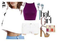 """""""That Girl"""" by sillycatgrl ❤ liked on Polyvore featuring Topshop, rag & bone, Bulgari, Steve Madden and Dolce&Gabbana"""
