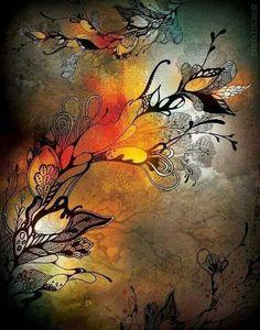 Tattoo of autumn