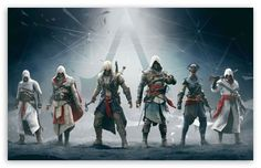 Assassins Creed. So much awesome in one picture.