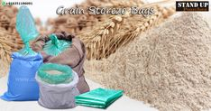 Our #supergrainbags are well known for their #strength, durability and its ability to give your products a longer shelf life as well as for their water eco-friendliness, #Grainbags are usually used to package #rice, #wheat, #corn, #millet, #oats, #seed etc....  more information whatsapp. + 91 6351186091