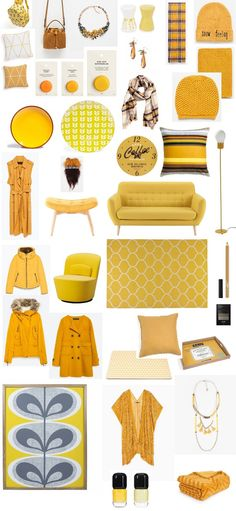 Un Blog che VALE...: Colorful Day - Mustard Yellow