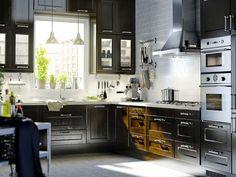 Meuble de cuisine bas rouge 2 tiroirs Griotte H.70 x l.60 x P.56 ...