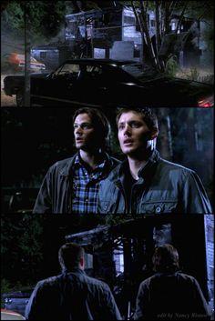 :( Bobby's house... 7x02 Hello, Cruel World #Supernatural #SPNS7 edit by Nancy Ristow