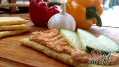 Recept Papriková pomazánka Camembert Cheese, Mashed Potatoes, Waffles, French Toast, Food And Drink, Appetizers, Cooking Recipes, Treats, Dinner