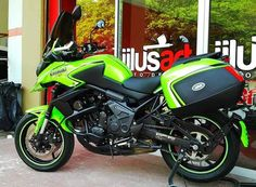 Versys 650, Concept Motorcycles, Green Monsters, Car Wheels, Bobber, Bike, Cars, Adventure, Bicycle