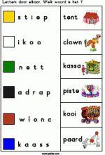 Knijpkaart Circus - Letters door elkaar Theater, School, Carnival, Theatres, Teatro, Drama Theater
