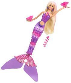 Mattel T1474 - Barbie - schwimmende Meerjungfrau blond, Puppe Mattel http://www.amazon.de/dp/B003FZAAVG/ref=cm_sw_r_pi_dp_4iCUwb1Q38TT0