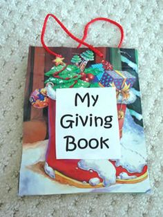 "Dr. Jean's, ""The Giving Book"" Craft/Activity"