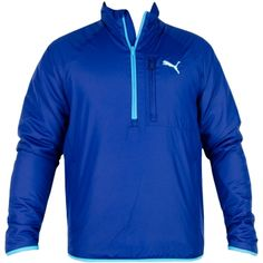 Puma Golf Quilted Jacket Blue Depths - AW12 Available at Trendy Golf