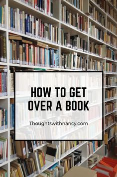 Get over a heart-breaking book with these tips! They are fun and helpful!
