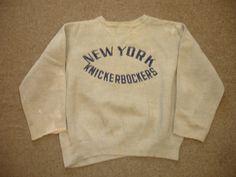 1940's 1950's New York Knicks Warm Up Sweatshirt   eBay