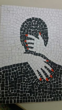 """Best 12 """"Go through the four stages of grief, but stop before you get to zebras"""" – SkillOfKing. Mosaic Tile Art, Mosaic Diy, Mosaic Garden, Mosaic Glass, Tile Crafts, Mosaic Crafts, Mosaic Projects, Mosaic Designs, Mosaic Patterns"""