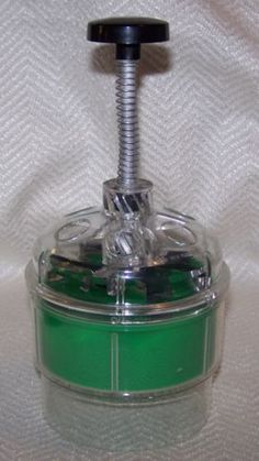 Vintage Food Chopper Green Plastic Hand Tool Retro Kitchen | eBay