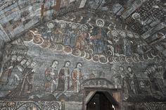Biserica de lemn din Ieud Deal - Pictură