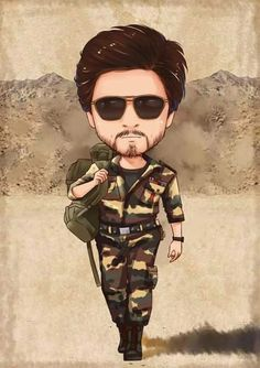 Iconic Movie Posters, Iconic Movies, Shahrukh Khan And Kajol, Salman Khan, Funny Caricatures, Celebrity Caricatures, Jack Sparrow Tattoos, Chak De India, Chibi Marvel