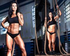 Musa fitness esbanja saúde em ensaio fotográfico (Foto: Divulgação)