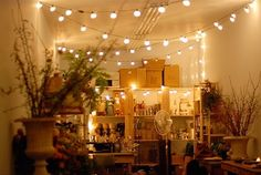 1000 images about indoor decor with fairy lights on - Indoor string light decoration ideas ...