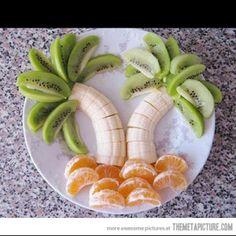 Tropical island fruit