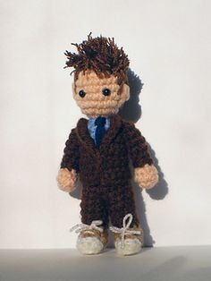 Allons-y! The Tenth Doctor is my favorite, and this little guy is almost as adorable as David Tennant.