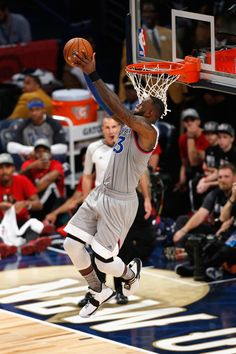 LeBron James Photos Photos - LeBron James #23 of the Cleveland Cavaliers dunks the ball in the first half of the 2017 NBA All-Star Game at Smoothie King Center on February 19, 2017 in New Orleans, Louisiana. NOTE TO USER: User expressly acknowledges and agrees that, by downloading and/or using this photograph, user is consenting to the terms and conditions of the Getty Images License Agreement. - NBA All-Star Game 2017