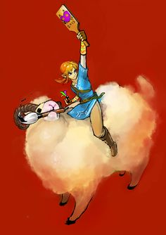 The Legend of Zelda Wii U / Link / 「ゼルダの伝説まとめ」/「梟」の漫画 [pixiv]
