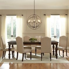Dining Room Ideas & Inspiration | Paint colors, Blue dining rooms ...