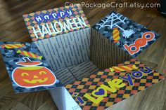 Happy Halloween Care Package on Etsy http://carepackagecraft.etsy.com #carepackageideas