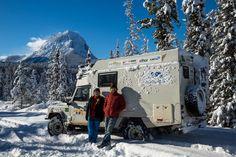 É, o inverno chegou aqui na América do Norte e não temos mais como fugir do frio. As fotos a seguir retratam um pouco do que vivenciamos na semana passada quando cruzamos as Montanhas Rochosas do C…