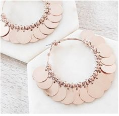 The Lucky Lady Earrings in Rose Gold- Available now at www.tealandtala.com.au Lucky Ladies, Women's Earrings, Gold Necklace, Rose Gold, Jewelry, Gold Pendant Necklace, Jewlery, Jewerly, Schmuck