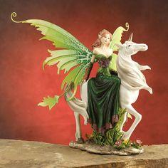 Fairy on Unicorn Figurine  http://www.efairies.com/store/pc/Fairy-on-Unicorn-Figurine-74p7732.htm  $25.95