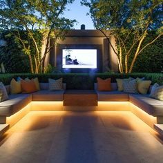 Add beauty to your place because these LEDs gives you an amazing and innovative theme! Grab it now and change the theme of your Place ! Place Your Order Now!! Backyard Seating, Backyard Patio Designs, Backyard Landscaping, Backyard Ideas, Outdoor Garden Lighting, Outdoor Decor, Led Garden Lights, Jardiniere Design, Garden Sofa Set