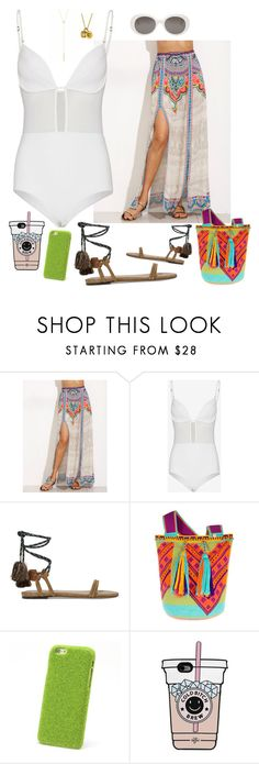 """""""824- Fiji 7"""" by arcvs ❤ liked on Polyvore featuring Zimmermann, Isabel Marant and Yves Saint Laurent"""