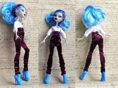Monster High Clothes  Monster High pants hand by MonstersNight, $13.00