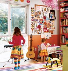 colorful play space