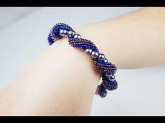 Russian Spiral Brick Stitch Bracelet Part 2 of 2 ~ Seed Bead Tutorials
