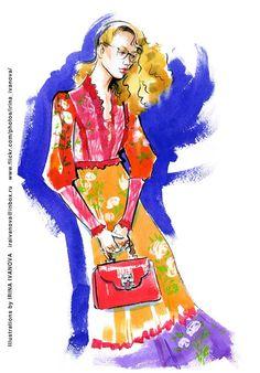 https://flic.kr/p/RdeNjh | img848 | Gucci Fall 2017 Ready-to-Wear Collection. #runway #Gucci #FALL2017 #readytowear #fashionillustration #illustration #fashion #model  #dress #accessory #bag #fun #drawing #clothes #watercolor #ink #fashionshow #hairstyle #makeup #fashionillustrator #иллюстрация #мода #одежда #artworkforsale #artwork #instafashion #fashioninsta