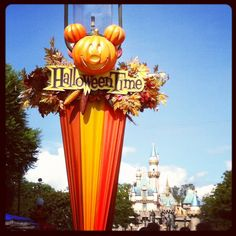 Disneyland at Halloween 2012