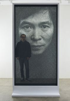 From the 'You Can Draw With Anything' Department: Seung Mo Park's Gorgeous Steel Mesh Portraits - Core77