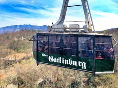 Soar above the Smokies and enjoy a bird's eye view of Gatlinburg on Ober Gatlinburg's Aerial Tramway.