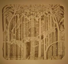 Torment by TahitiPehrson on DeviantArt, Cut Paper